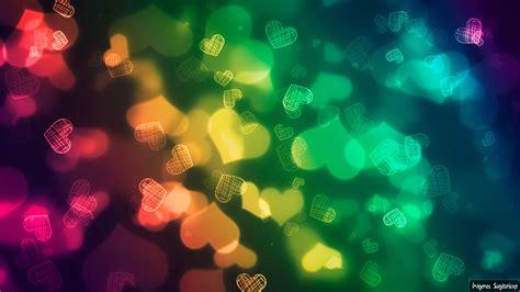 imagenes de corazones para fondo de pantalla lindos corazones multicolor fondo de pantalla im 225 genes para