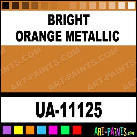 bright orange metallic ultra glo enamel paints ua 11125 bright orange metallic paint bright