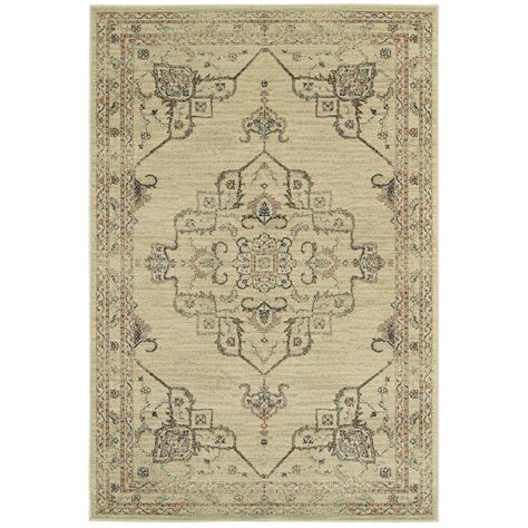 Neutral Kitchen Rugs Home Decorators Collection Antiquity Neutral 7 Ft 10 In X 10 Ft Area Rug B2543x240305hd The