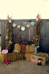 western outdoor decor western birthday ideas birthday
