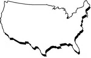 us map outline clip best photos of outline united states of america usa