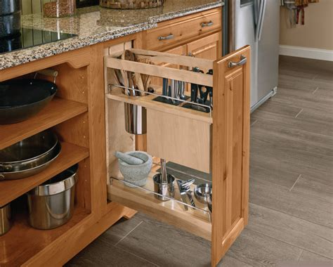 Base Pantry Pull Out by Storage Solutions For Small Kitchens Brolsma