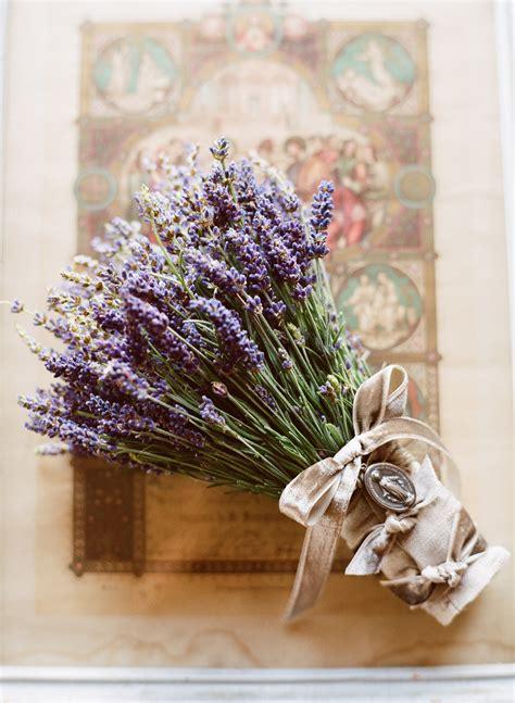 flower design vintage weddings the brides lavender bouquet was dressed with vintage