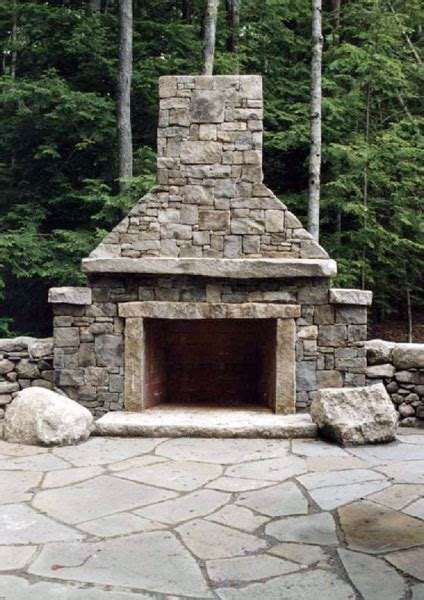 patio hearth fireplace