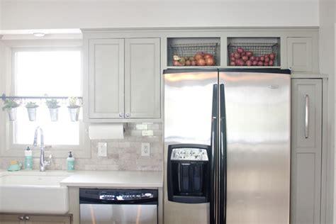 remodelaholic remodeled kitchen  refinished hardwood