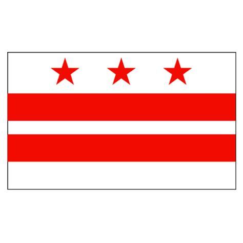 Kaos Washington Dc Flag 2 d c flag 3 x 5 knit polyester