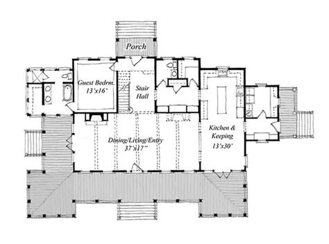 island home plans new carolina island house print coastal living house