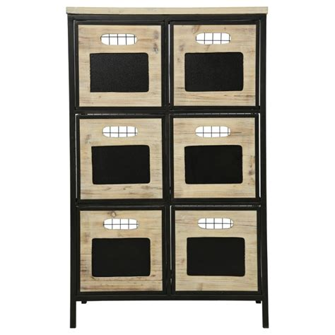 Commode Beige by Commode 6 Tiroirs Quot Garet Quot Beige