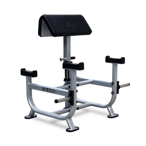 standing preacher bench atlantis b 155 standing preacher curl gym equipment