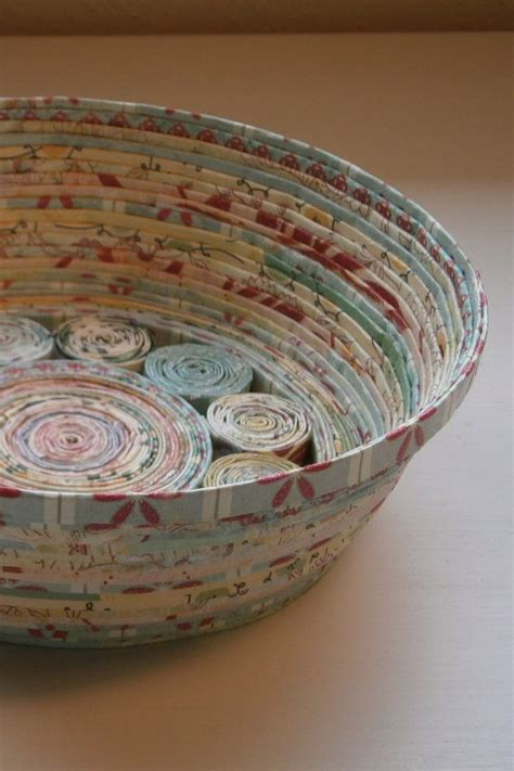 Baskets Handmade - handmade paper basket blue medium