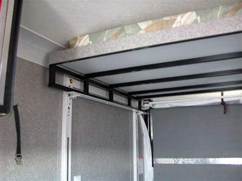 rv bed lift system happijac bed lift optional double bunk mirage trailer