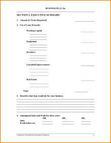 fill in business plan template fill in the blank business plan template bussines