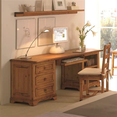 estantes con cajones escritorio r 250 stico de madera con cajones y estantes