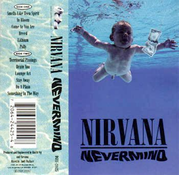 nirvana nevermind cassette nirvana nevermind cassette album at discogs