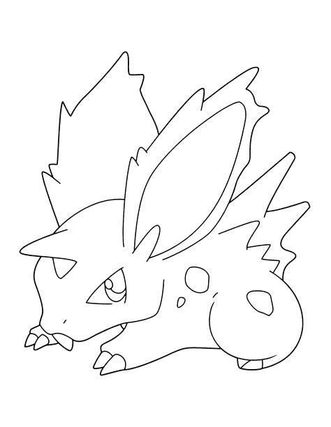 pokemon coloring pages nidoking nidoking coloring pages coloring pages