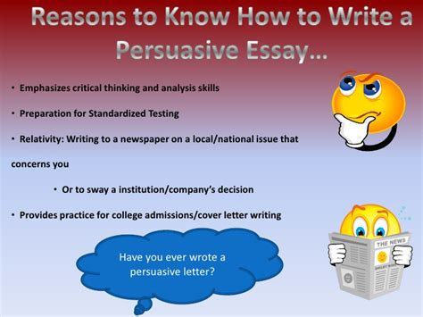 Steps To Write A Persuasive Essay by Steps To Writing A Persuasive Essay Writing Service