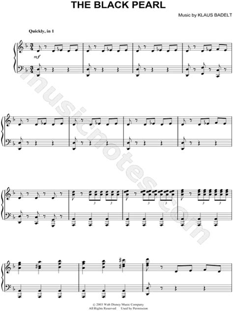 "Hollywood Studio Symphony ""The Black Pearl"" Sheet Music"