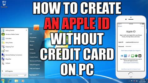 how to make itune id without credit card how to create apple id without credit card on pc 2016