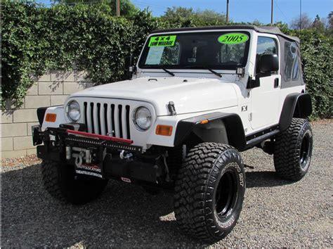 2005 Jeep Wrangler X Jeep Wrangler X