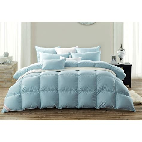100 Percent Cotton Filled Comforters by Snowman 800 Fp Goose Comforter Duvet 100