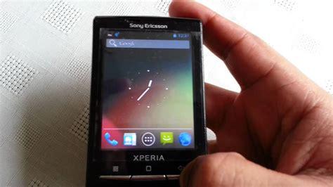 hard reset blackberry x10 xperia x10 mini jelly bean 4 1 1 youtube