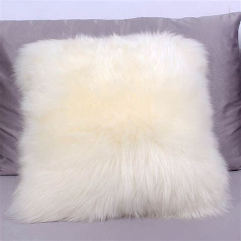 Sheepskin Pillow Covers by Sheepskin Pillow