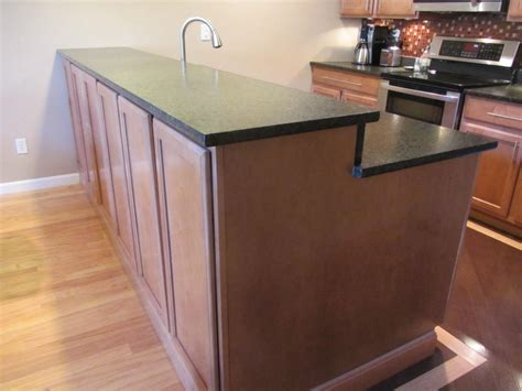 Kitchen Breakfast Bar Overhang Galley Kitchen Remodel Before After Pictures Future