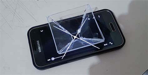 caratula para holograma 191 c 243 mo proyectar hologramas 3d con tu smartphone video