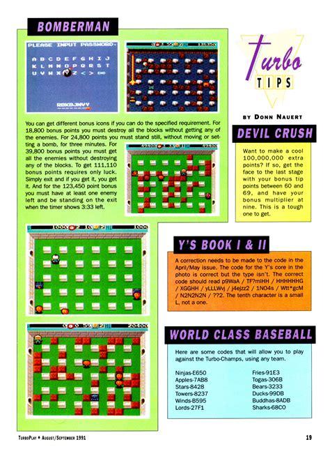 Bro Code Tp turboplay magazine 08 august september 1991