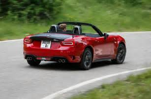 124 Abarth Spider Abarth 124 Spider Review 2017 Autocar