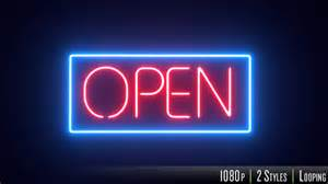open neon sign by butlerm videohive