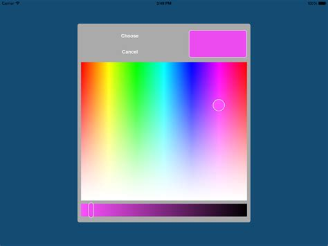 ios colors github fcanas ios color picker a color picker for ios