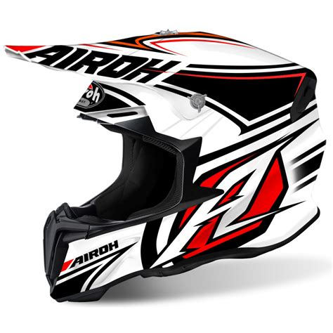 airoh motocross helmets uk airoh twist motocross helmet avanger white motorcycle