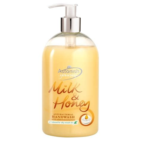 Yesta Wash Milk With Honey astonish anti bacterial milk honey wash 500ml from ocado