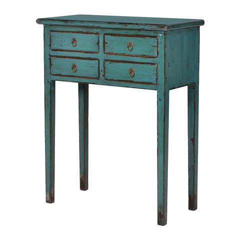Small Console Table With Drawer Small Console Table With Drawers By Out There Interiors Notonthehighstreet
