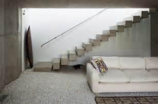 treppen einschalen moderne betontreppe bauen 22 ideen f 252 r innen und