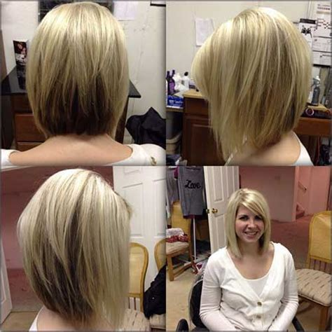 Bob Hairstyles 2016 With Bangs by 20 Best Angled Bob Hairstyles Hairstyles 2017