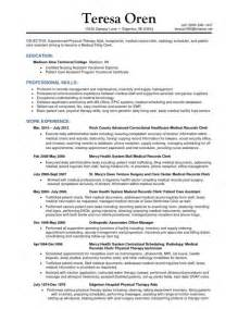 Records Management Officer Sle Resume by Sle Records Clerk Clerk Sle Resume 4 Weather Microsoft Plan