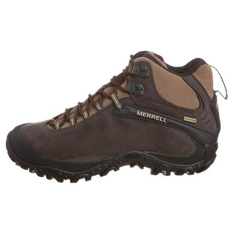 merrell mens chameleon 4 mid waterproof leather walking