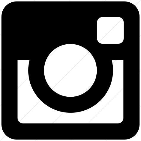 black instagram icon free black social icons 16 social media facebook twitter instagram icons black