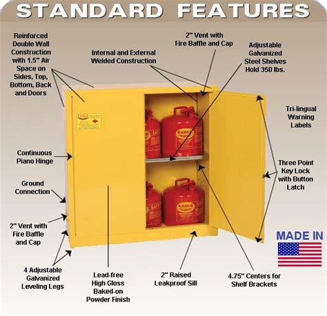 flammable storage cabinet grounding requirements flammable storage cabinets regulations ppi blog