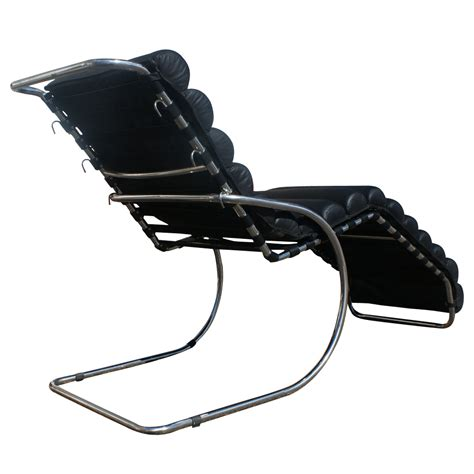 mies van der rohe chaise lounge mies van der rohe adjustable mr chaise lounge ebay