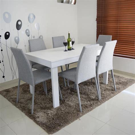 oferta de sillas de comedor comedor 6 sillas tapizado tela y mesa oferta 729
