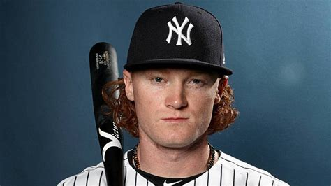 white baseball players with dark hair yankees beef with clint frazier s hair symbolizes what s