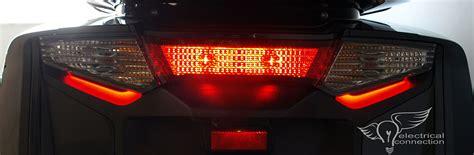honda gl fb  browz tail light illumination electrical connection
