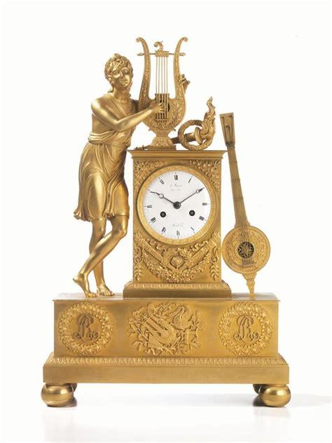 orologi antichi da tavolo orologio da tavolo francia 1820 1840 in bronzo dorato