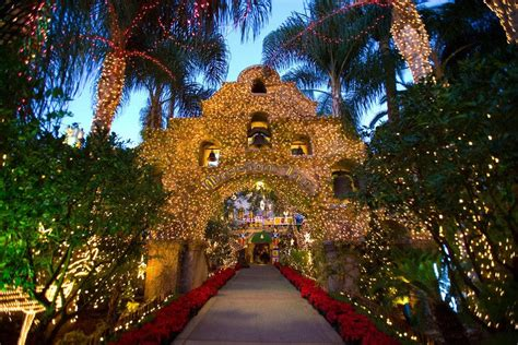 mission inn festival  lights los angeles attractions