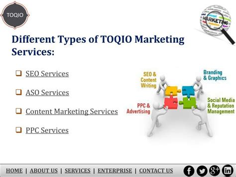 Types Of Seo Services ppt need marketing services for new business in