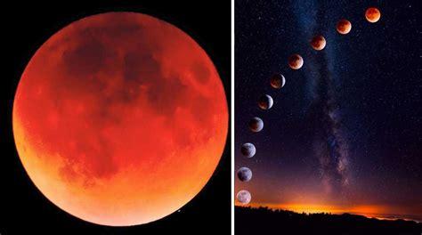 imagenes increibles de la luna las mejores fotos que dej 243 la luna de sangre que no