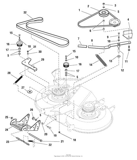 simplicity mower belt diagram simplicity 1694331 40 quot mower deck ce export parts